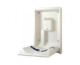 Пеленальный столик настенный откидной вертикальный KB101-00-INB