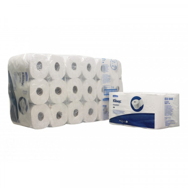 Туалетная бумага Kleenex стандартный рулон 3 слоя 8440