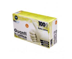 Перчатки латексные 100шт. SAFE LATEX GUL100BLL