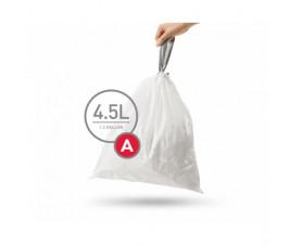 Мешки для мусора плотные с завязками 45л CW0250