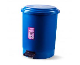 Корзина для мусора с педалью синий пластик 50л PK-50 107