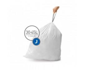 Мешки для мусора плотные с завязками 30-45л CW0259