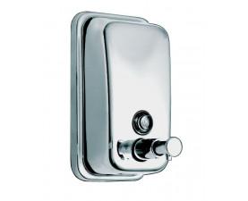Диспенсер для мыла нержавеющая сталь глянцевый 0.5 л. АLL1006B