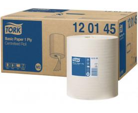Рулонные бумажные полотенца с ценральной вытяжкой Макси Tork Universal 120145