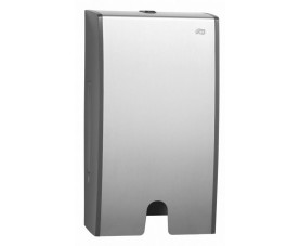 Диспенсер металлический Tork для листовых узкопанельных полотенец сложения Interfold 451000