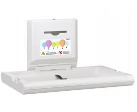 Пеленальный столик настенный откидной горизонтальный BabyMedi CP0016H