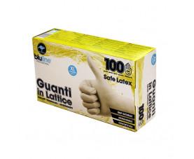 Перчатки латексные 100шт. SAFE LATEX GUL100BLXL