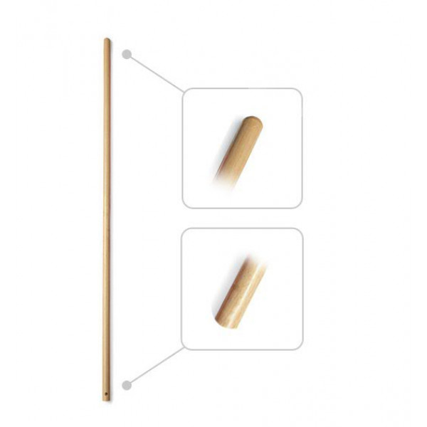 Рукоятка деревянная с отверстием 1030