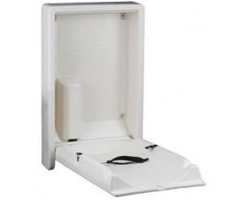 Пеленальный столик настенный вертикальный J1020PLW(8993051)