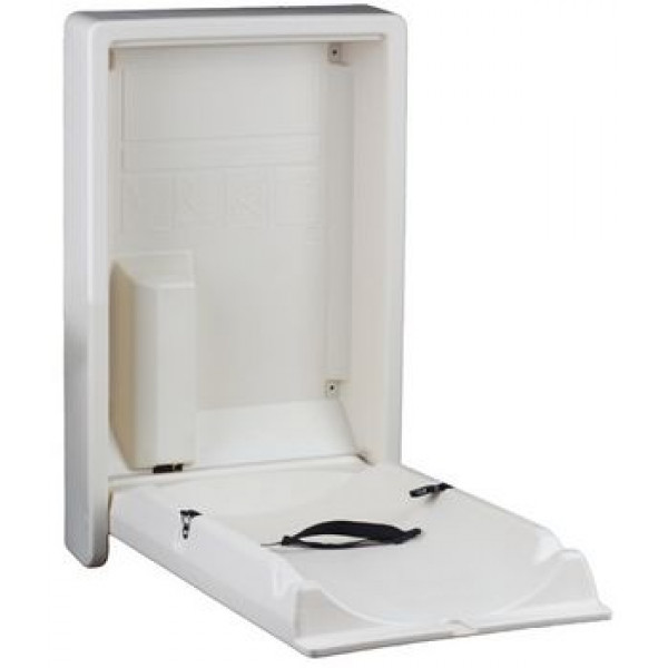 Пеленальный столик настенный вертикульный J1020PLW(8993051)