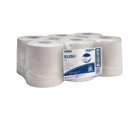 Бумажные протирочные салфетки WYPALL L10 с центральной подачей 7495