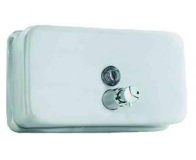 Дозатор для жидкого мыла горизонтальный матовый 03002.S