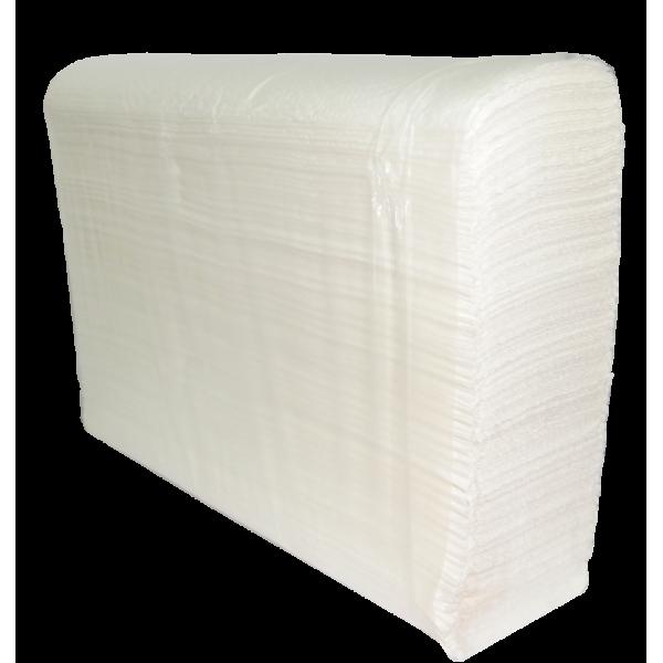 Полотенца бумажные белые Z-складка 200Z