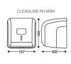 Держатель бумаги туалетной в пачках CleanLine Mini 899608 фото - 1