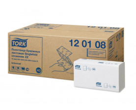 Бумажные полотенца сложение ZZ Tork Universal белые 120108