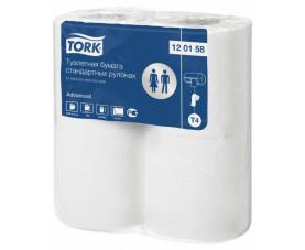 Туалетная бумага в стандартных рулонах Tork Advanced 120158