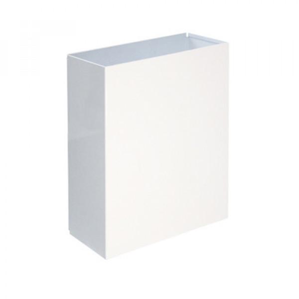 Урна для бумажных полотенец белая 25л M-125W