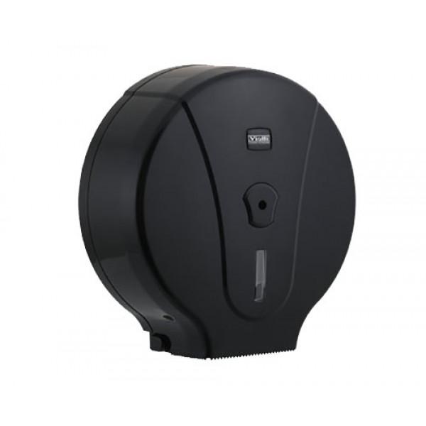 Диспенсер туалетной бумаги джамбо чёрный пластик MJ.1B