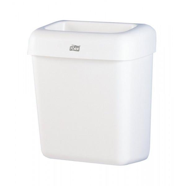 Корзина для мусора 20 л белая Tork 226100