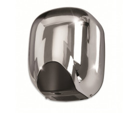 Сушилка для рук металлическая глянцевая VAMA ECOSTREAM 550 LF