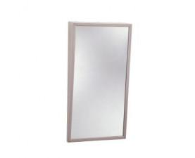 Зеркало со стальной полированной окантовкой с наклоном 293-1630
