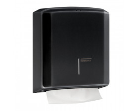 Держатель бумажных полотенец чёрный металл DT2106В