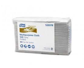 Нетканый протирочный материал листовой Tork Premium 520 универсал 520378