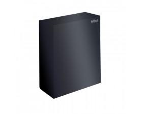 Урна для бумажных полотенец чёрная 25л M-125B
