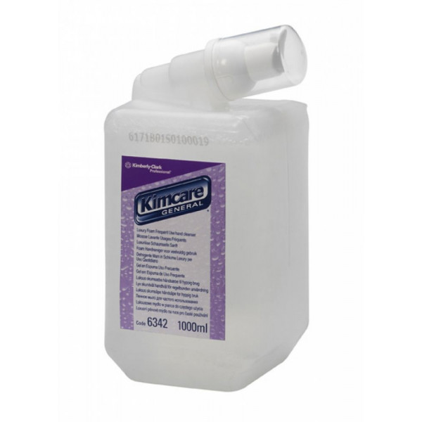 Жидкое мыло-пена KIMCARE GENERAL Luxury бесцветный 6342