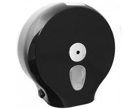 Держатель бумаги туалетной Джамбо чёрный A59013