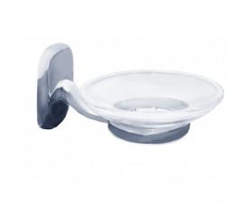 Держатель мыла со стеклянным блюдцем GATTO 7259