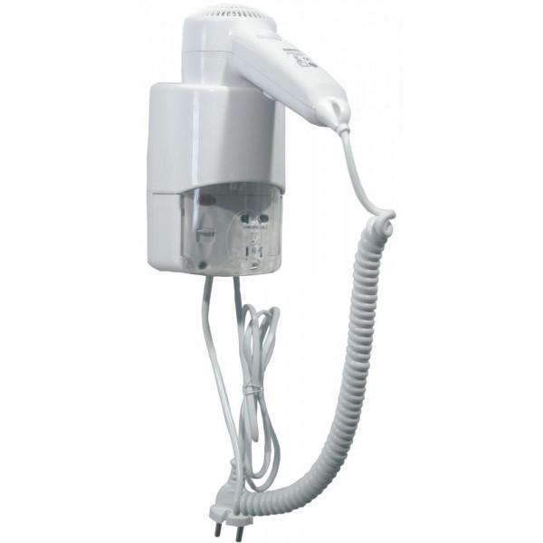Фен для волос гостиничный белый пластик SC0030