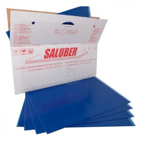 Липкое бактерицидное покрытие на пол Saluber