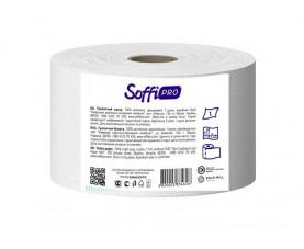 Туалетная бумага Джамбо целлюлозная белая SoffiPro Basic JTP 120м
