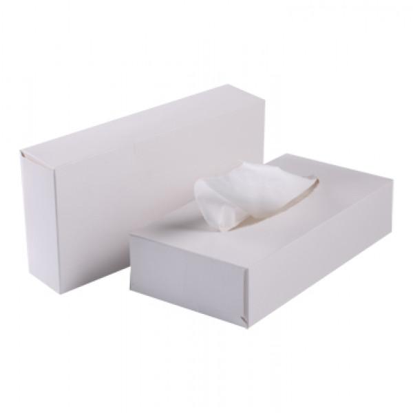 Салфетки косметические целлюлозные белые S-980