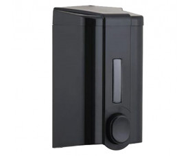 Дозатор жидкого мыла чёрный пластик S.4B