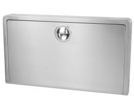 Пеленальный столик настенный горизонтальный нержавеющая сталь KB110-SSWM