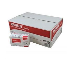 Полотенца бумажные Katrin Classic w-сложение 2сл 345355
