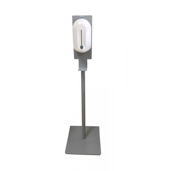 Стойка с автоматическим дозатором для дезинфекции 1,1л PW-110-0102Grey