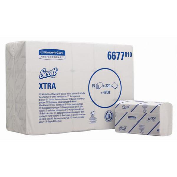 Бумажные полотенца в SCOTT Extra, 1 cл. 6677
