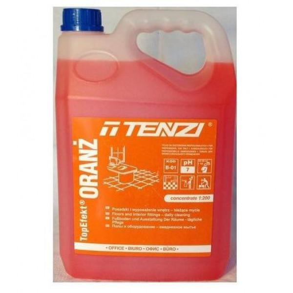 Нейтральный препарат для мытья напольных покрытий 10л. TOPEFEKT ORANZ B-01/005