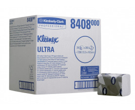 Туалетная бумага листовая KLEENEX ULTRA 8408