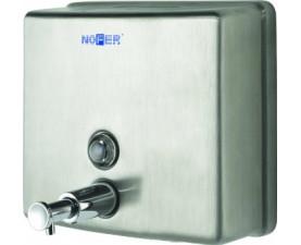 Дозатор жидкого мыла квадратный матовый 03004.S