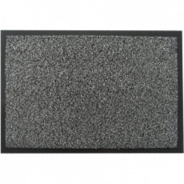 Коврик на резиновой основе с ворсом серый MOSS-Ch-40x60 GRAY