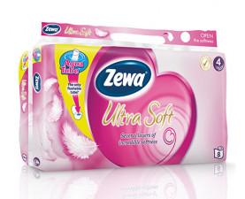 Туалетная бумага Zewa Ultra Soft Exclusive 8 шт. в упаковке