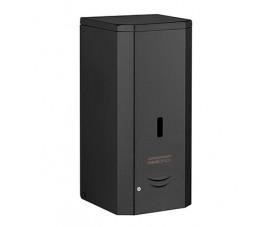 Дозатор мыла-пены сенсорный металл чёрный 1л DJF0038АB