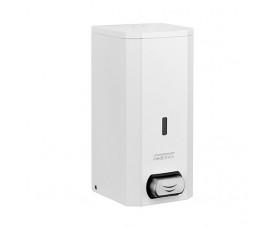 Дозатор жидкого мыла метал белый 1,5л DJ0031