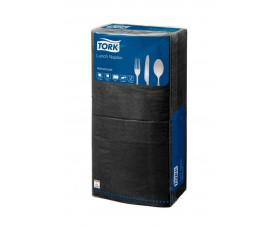 Салфетки бумажные черные Tork Advanced 18470