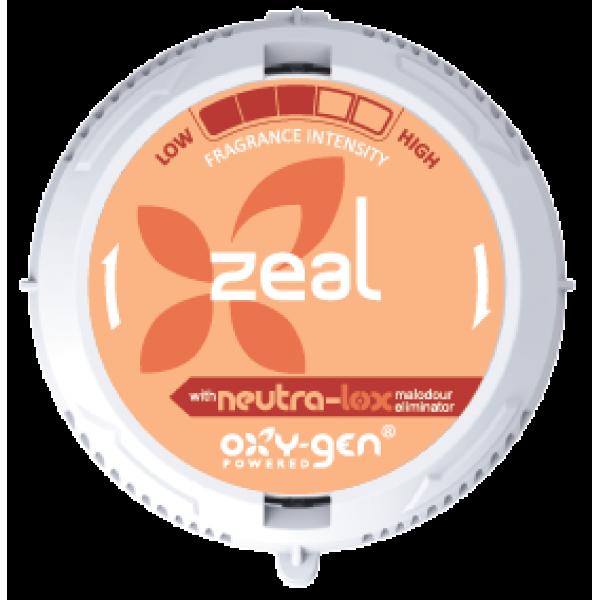 Картридж парфюмированный Oxy-Gen Powered Zeal 30 мл.