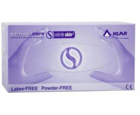 Перчатки нитриловые IGAR Sempercare Skin2 200 шт L Синие